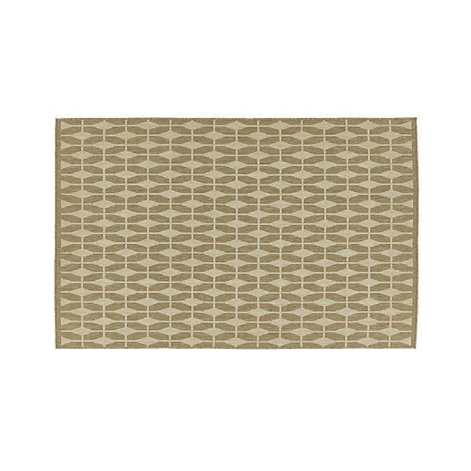 Crate & Barrel Aldo II Rug in Flax - image-0
