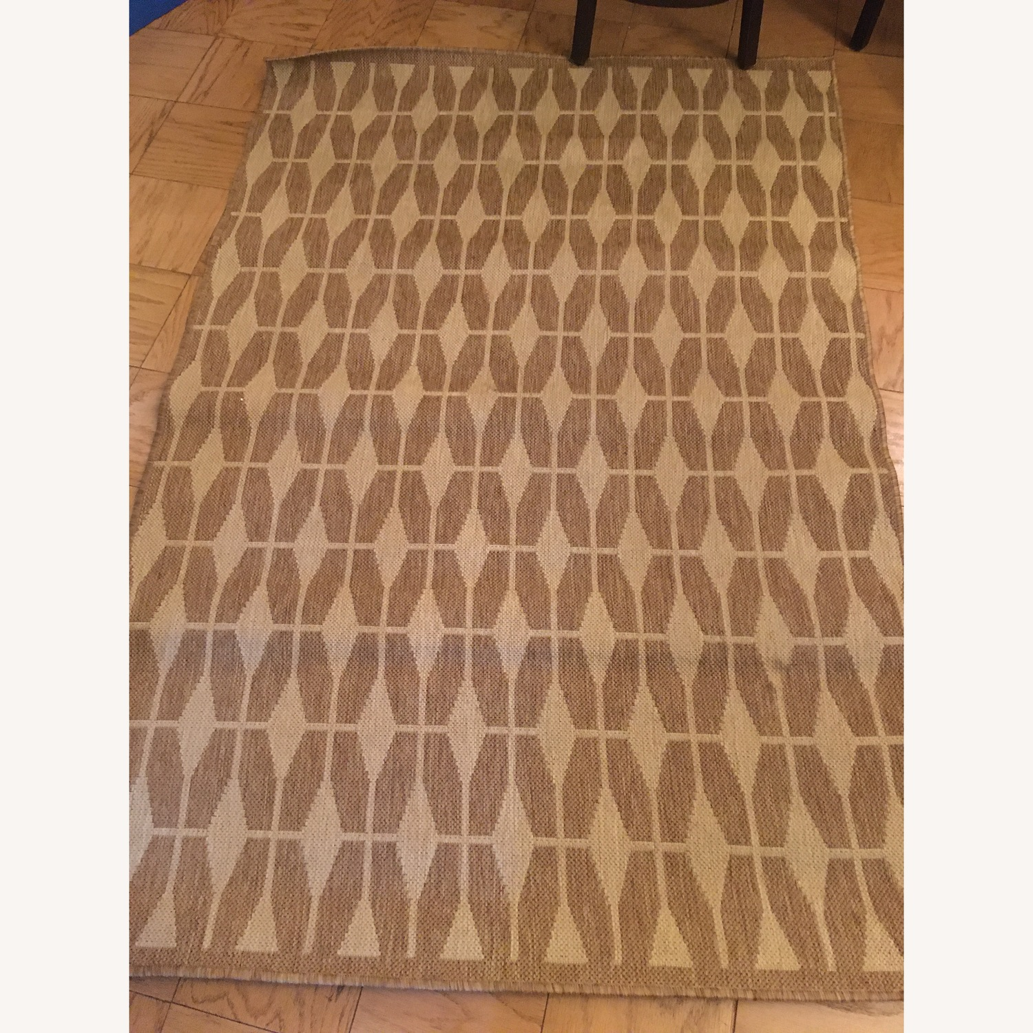 Crate & Barrel Aldo II Rug in Flax - image-1