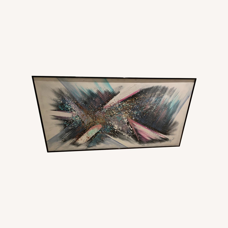 Large Framed Wall Art - image-0