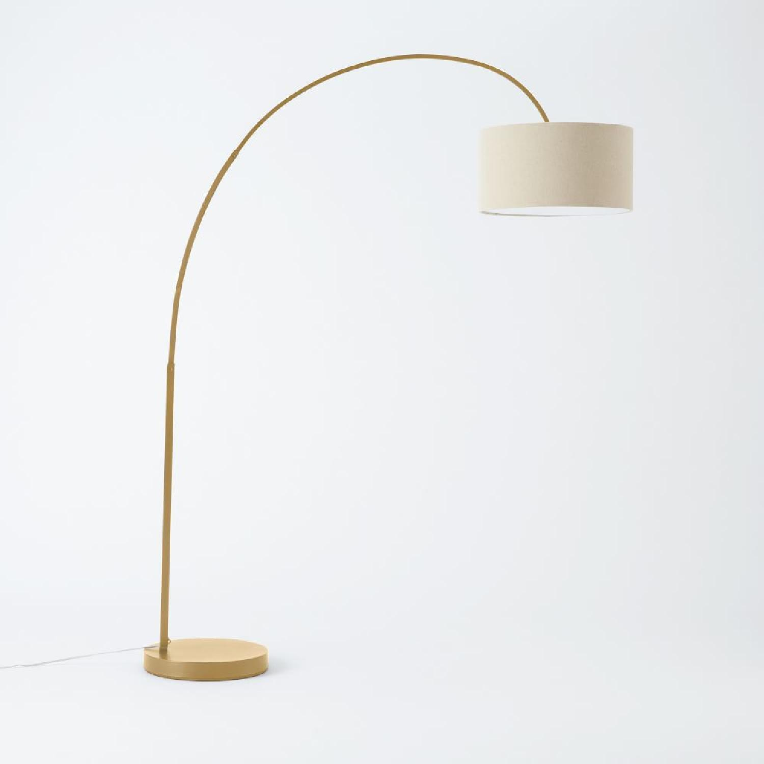 West Elm Overarching Floor Lamp