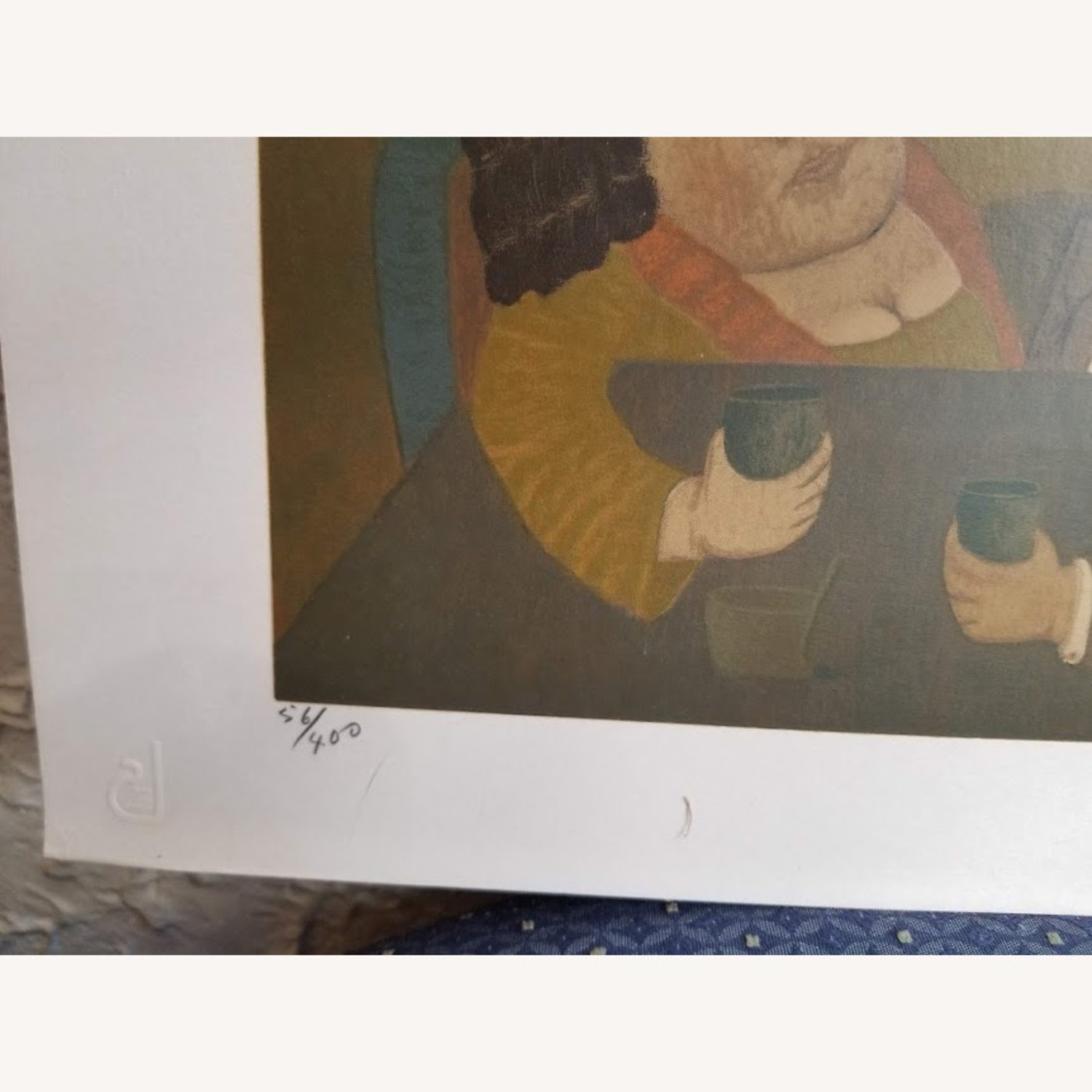 Signed Numbered Colombian Art Print by Antonio Samudio - image-10