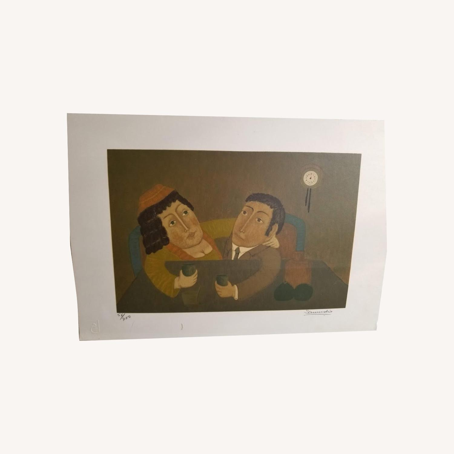 Signed Numbered Colombian Art Print by Antonio Samudio - image-0