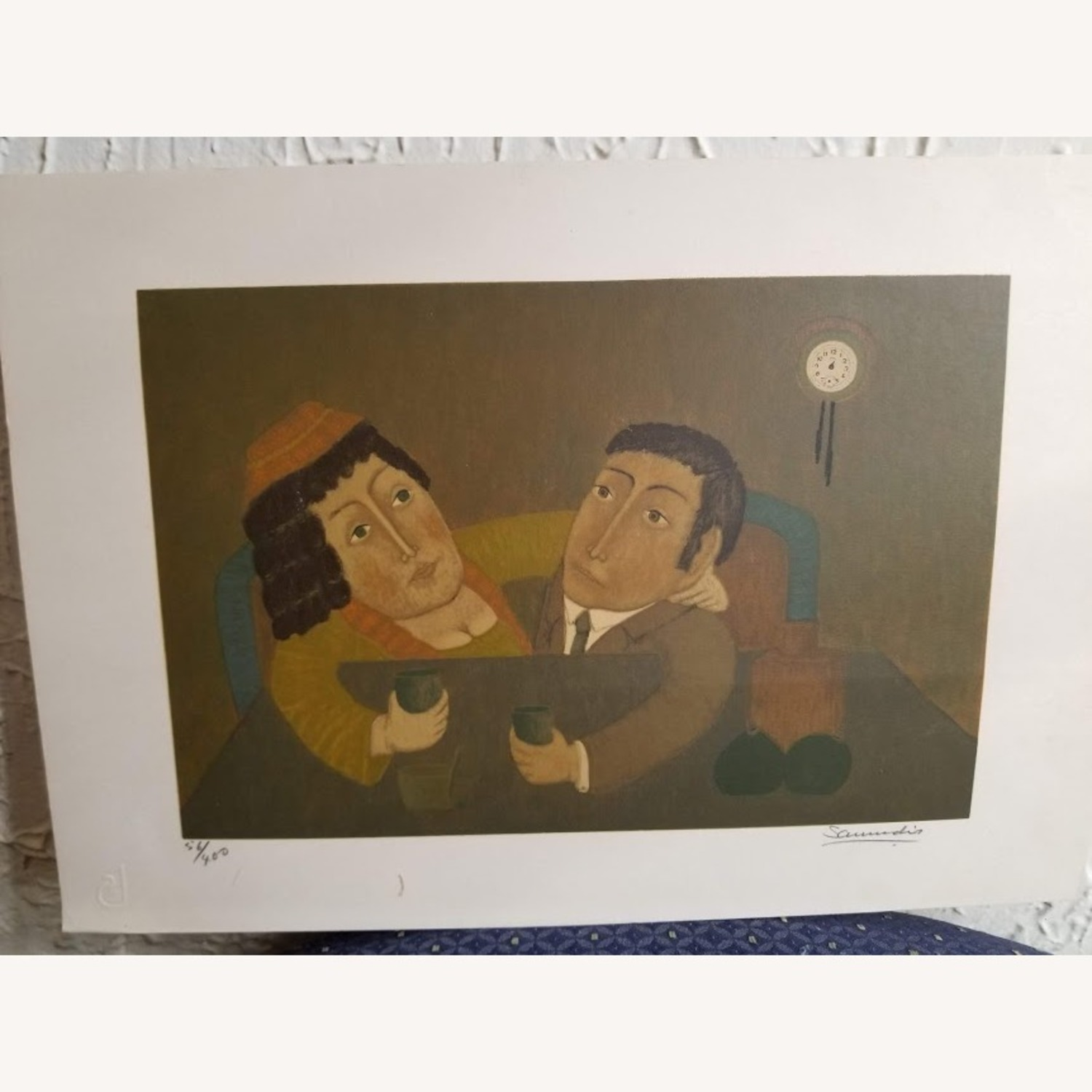 Signed Numbered Colombian Art Print by Antonio Samudio - image-3