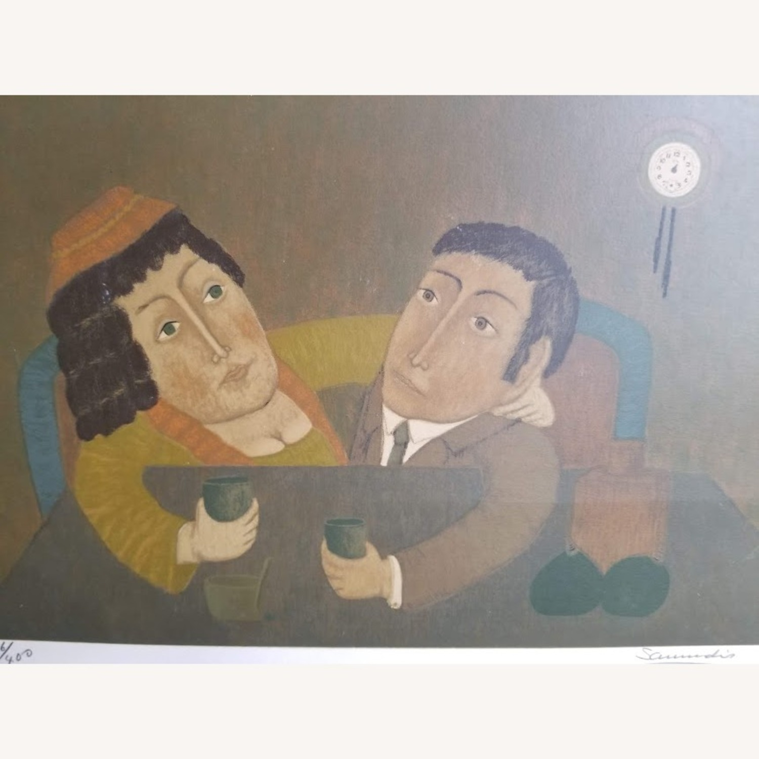 Signed Numbered Colombian Art Print by Antonio Samudio - image-4