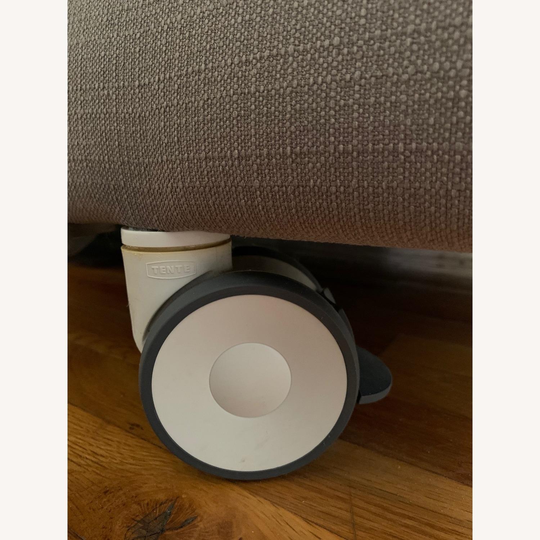 ABC Carpet & Home Convertible Sofa & Ottoman - image-6