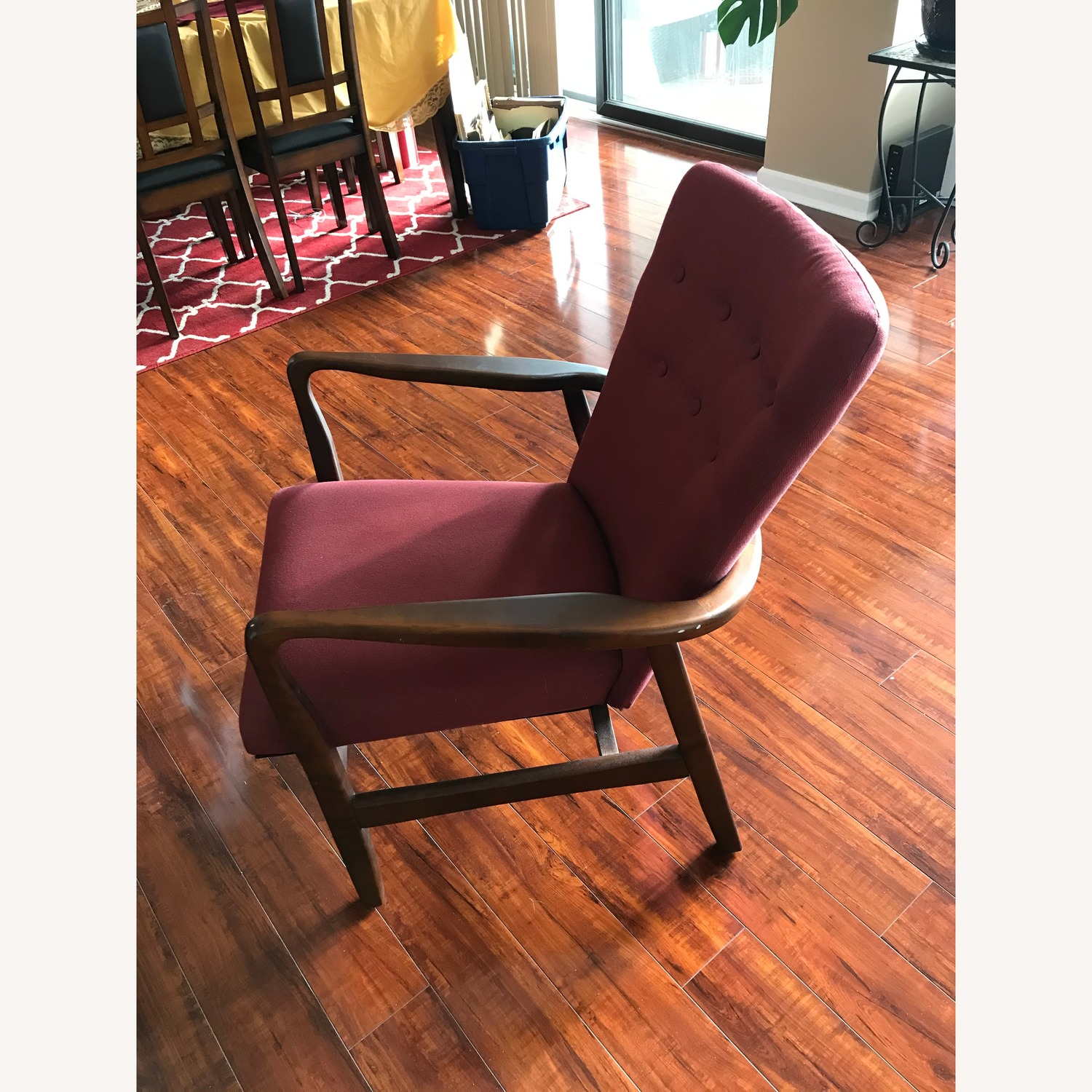 Burgundy Accent Chairs - image-2
