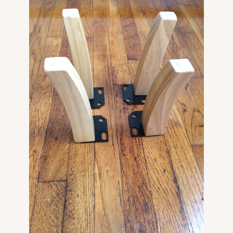 Solid Oak Furniture Legs