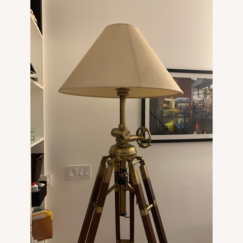 Restoration Hardware Royal Marine Tripod Floor Lamp