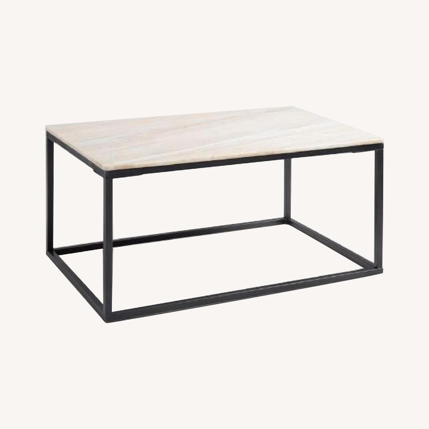 World Market Marble Top Coffee Table