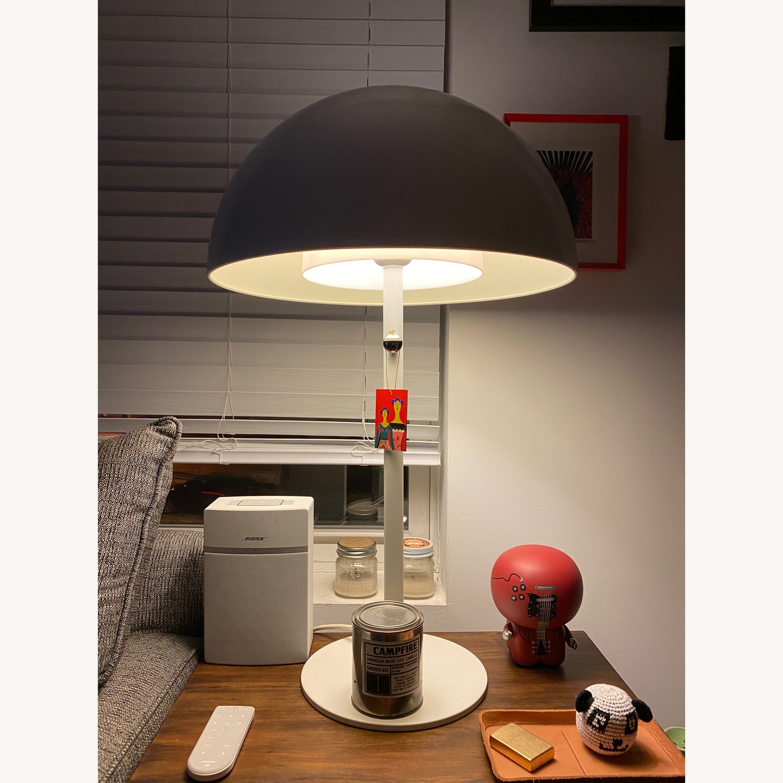 White IKEA Brasa Lamps set of 2