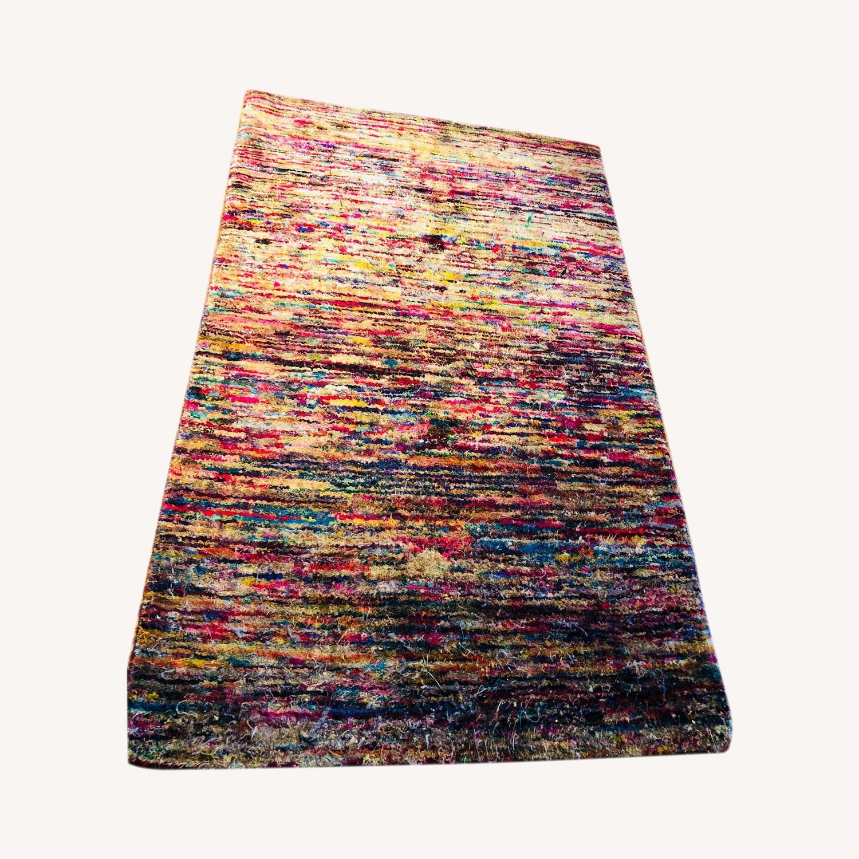 ABC Multicolored Carpet small Rug - image-0