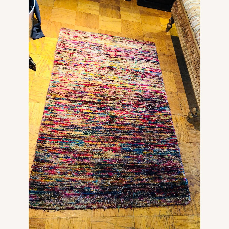 ABC Multicolored Carpet small Rug - image-2