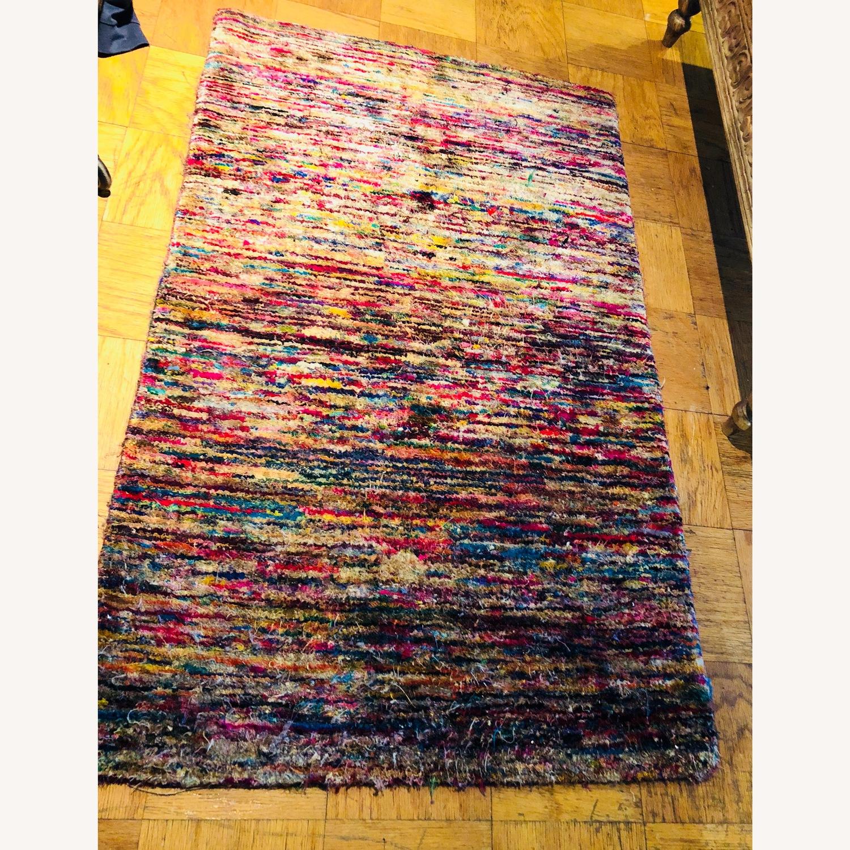 ABC Multicolored Carpet small Rug - image-3
