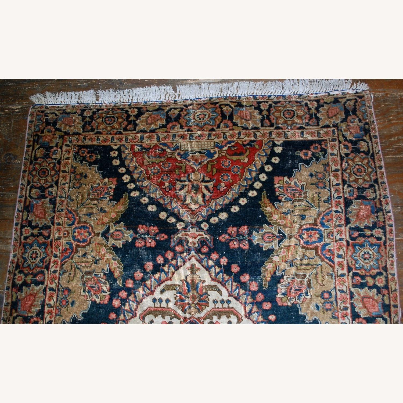 Antique Persian Malayer Handmade Rug - image-4