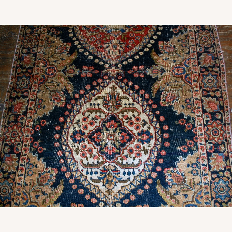 Antique Persian Malayer Handmade Rug - image-1