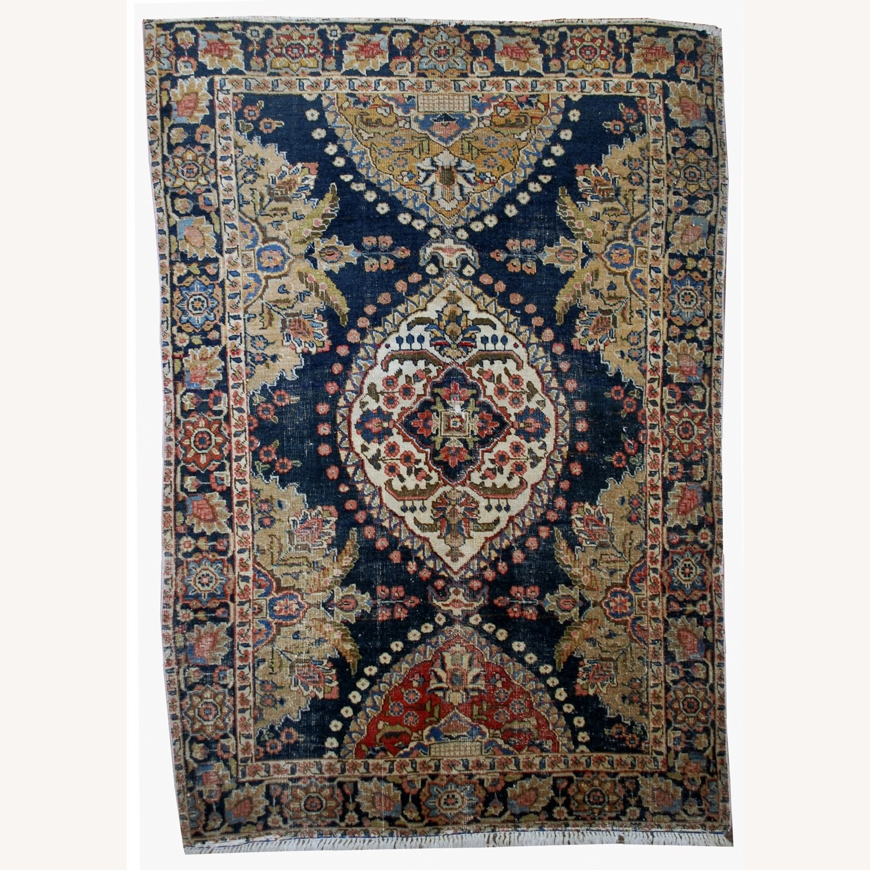 Antique Persian Malayer Handmade Rug - image-0