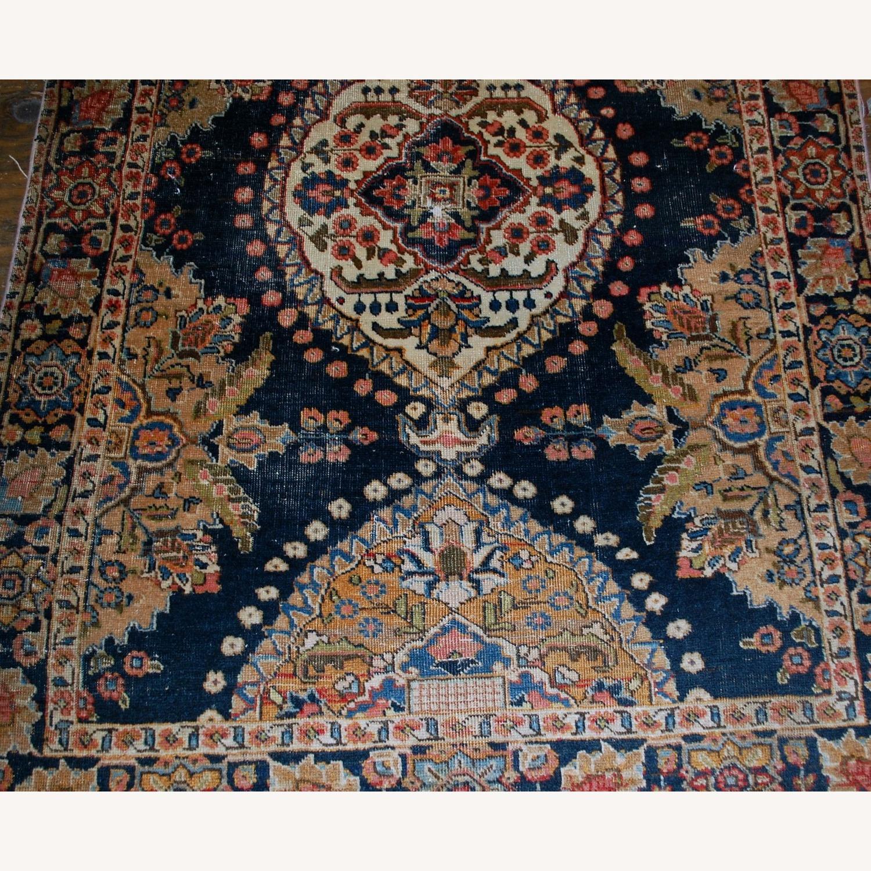 Antique Persian Malayer Handmade Rug - image-3