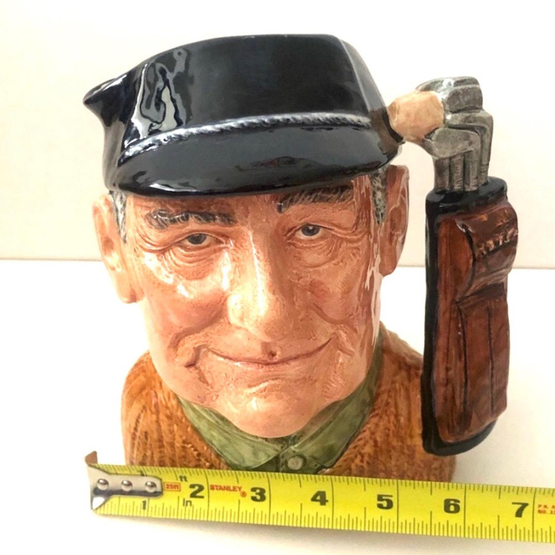 Vintage Royal Doulton 1970 Golfer Toby Mug