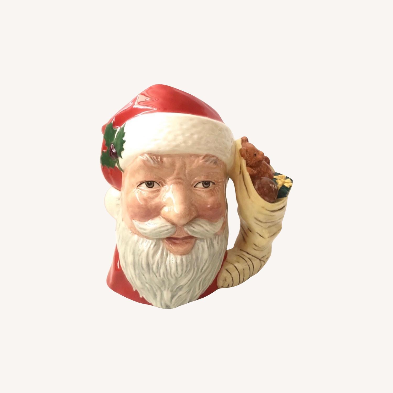 Royal Doulton 1983 Santa Claus Toy Bag Handle Mug - image-0