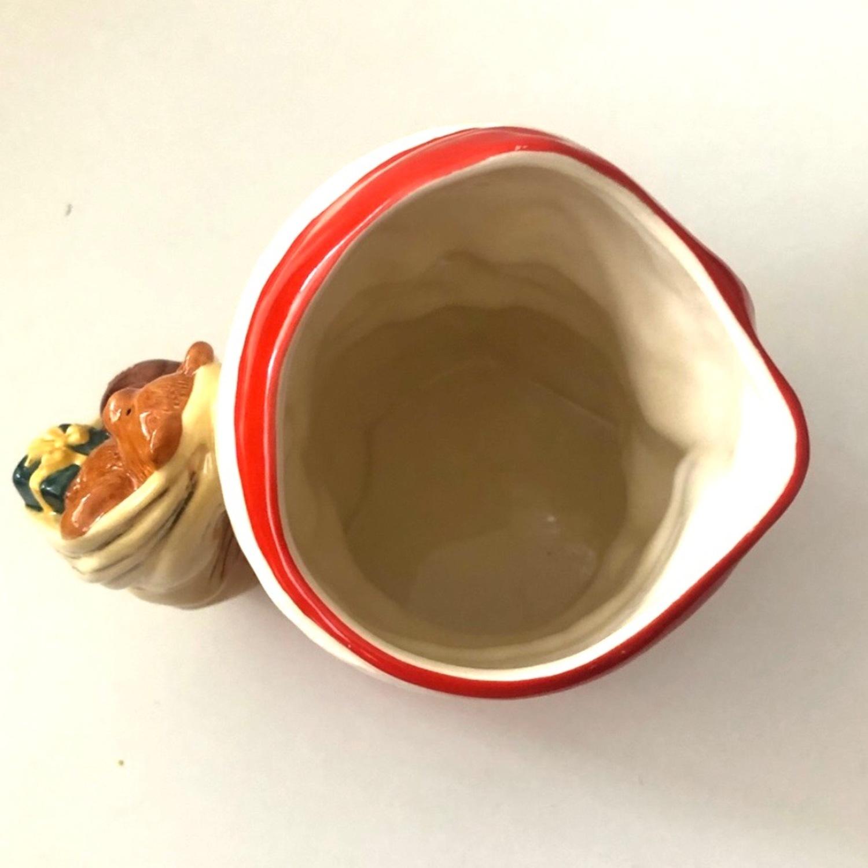 Royal Doulton 1983 Santa Claus Toy Bag Handle Mug - image-5