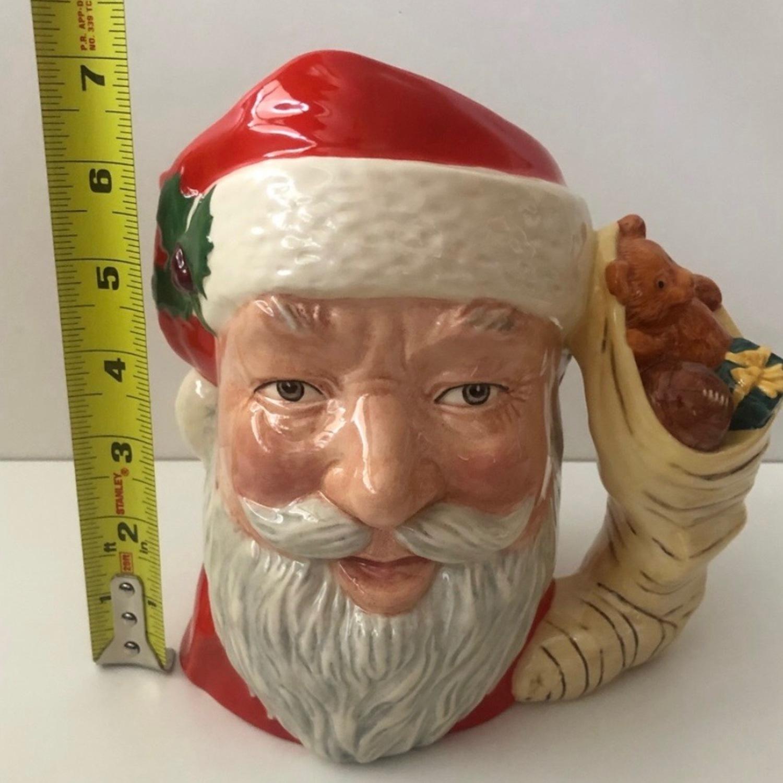 Royal Doulton 1983 Santa Claus Toy Bag Handle Mug - image-4