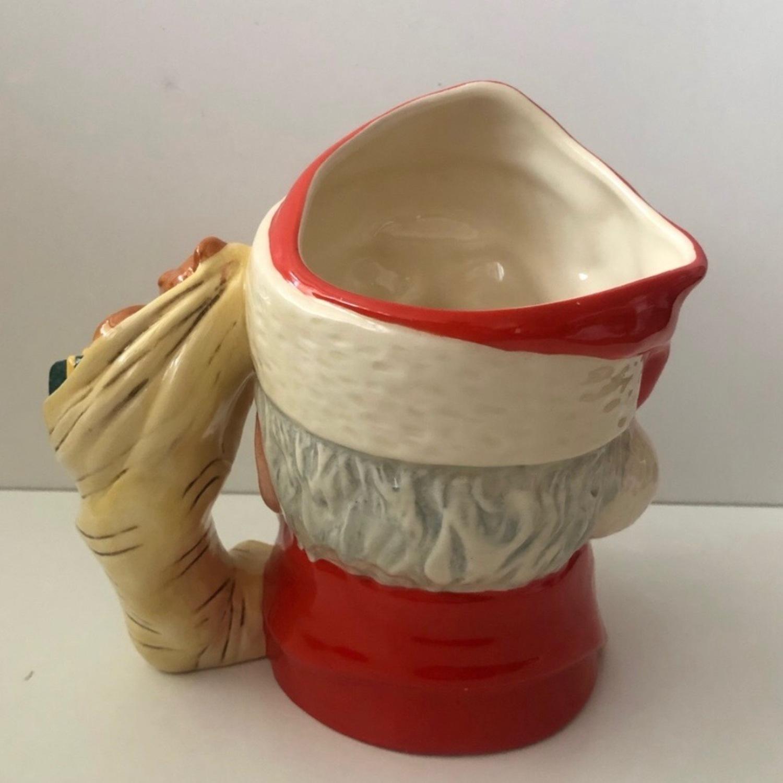 Royal Doulton 1983 Santa Claus Toy Bag Handle Mug - image-3