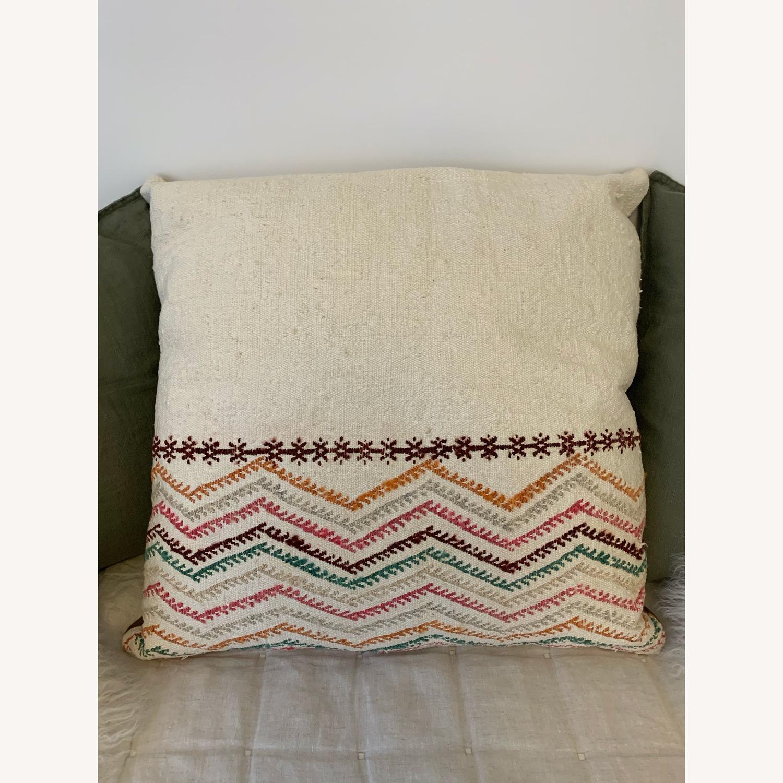 Colorful Bohemian Cushion