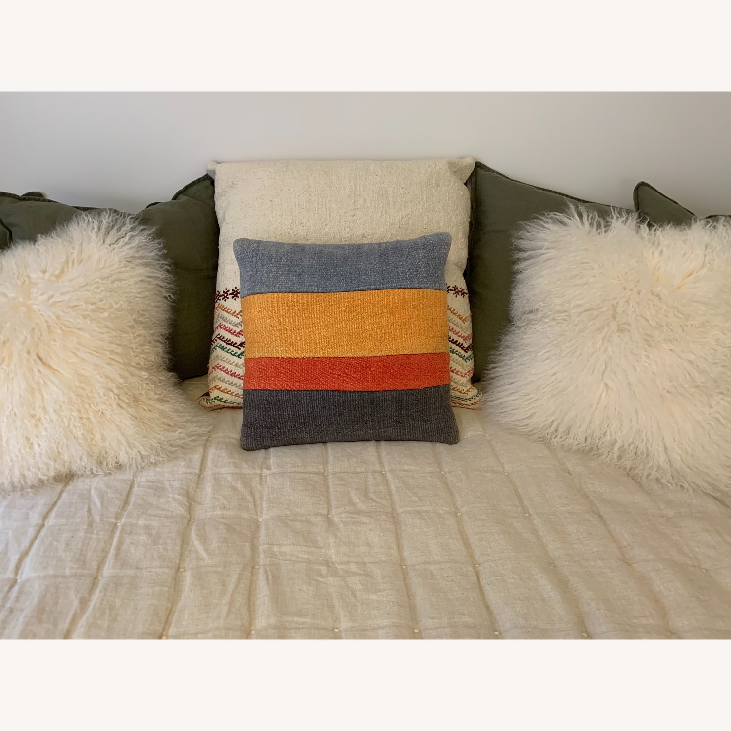 Multicolor Throw Pillow