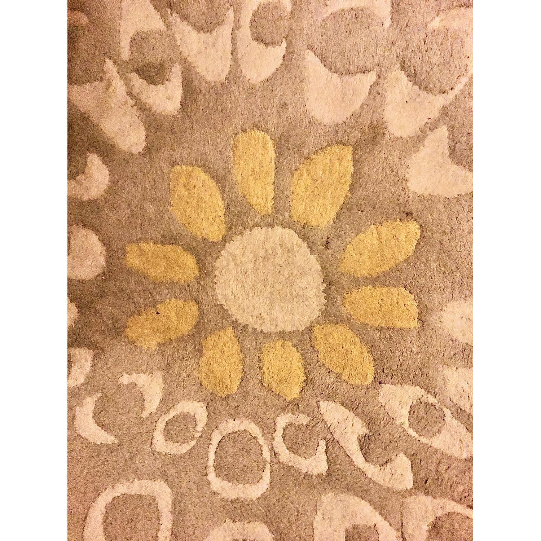 Hand Tufted Zandoline New Zealand Wool Rug - image-5