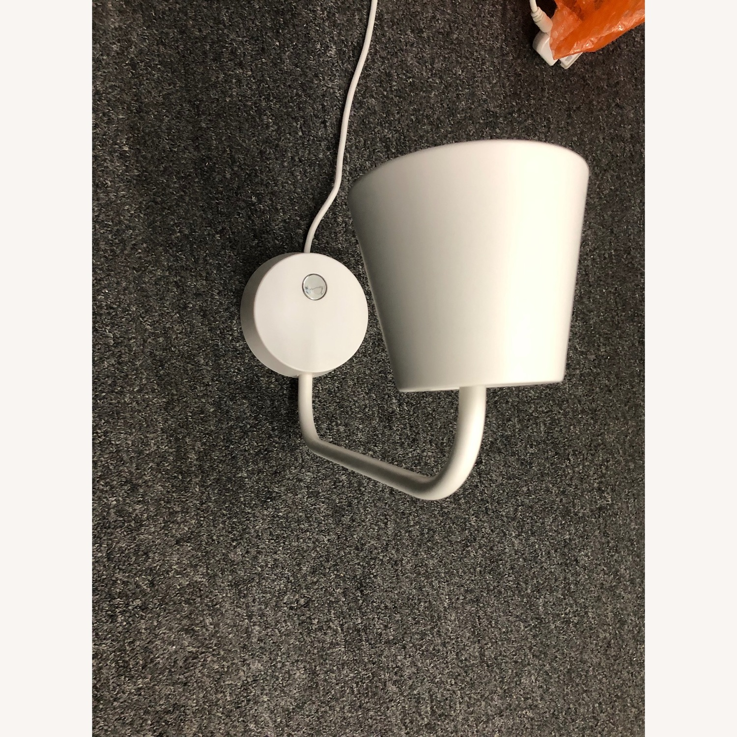 Ikea White Tisdag LED Wall Lamps