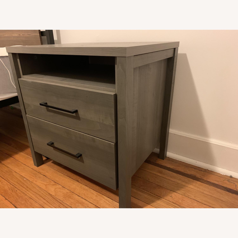 South Shore Furniture Gravity 2 Drawer Nightstand Aptdeco