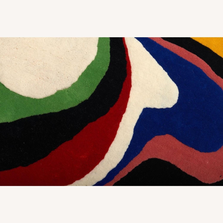 Aelfie Cosmic Yolk Wool Rug - image-2