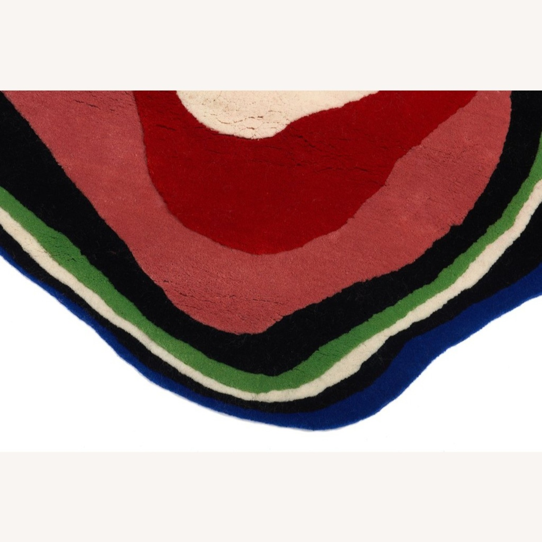 Aelfie Cosmic Yolk Wool Rug - image-3
