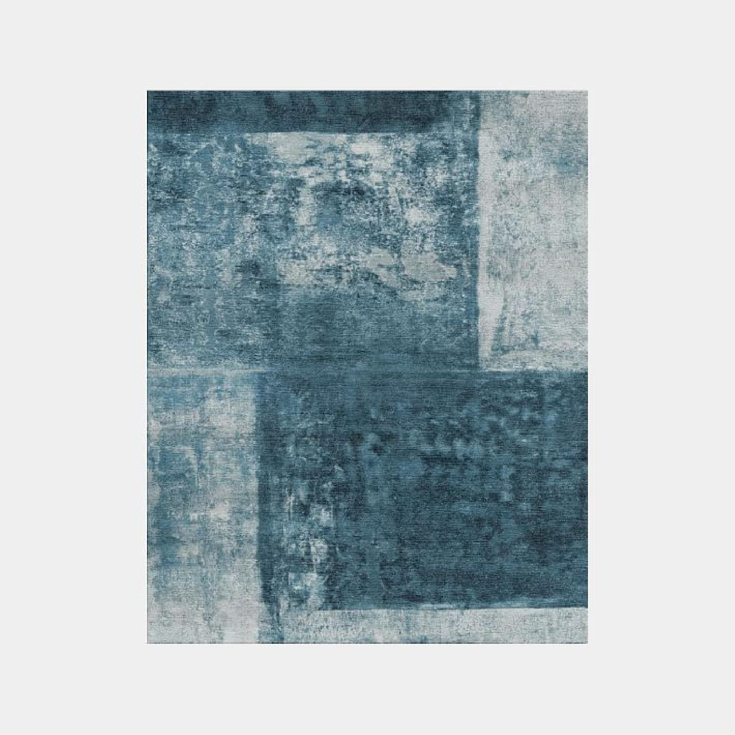 West Elm Blue Area Rug - image-4