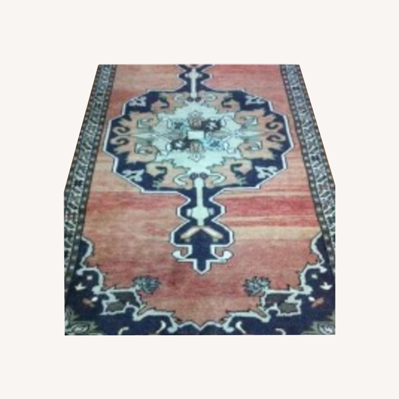 Turkish Handwoven Kilim Rug - image-0