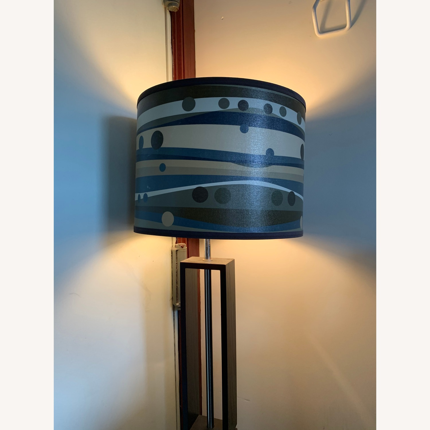 Target Floor Lamp w/ Patterned Shade - image-2