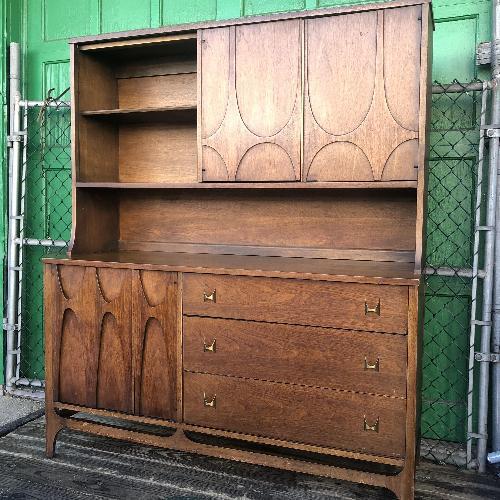 Used Broyhill Brasillia Mid Century Modern China Cabinet for sale on AptDeco