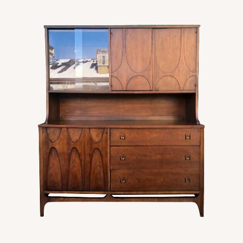 Used Broyhill Brasillia Mid Century Modern China Cabinet for sale on AptDeco