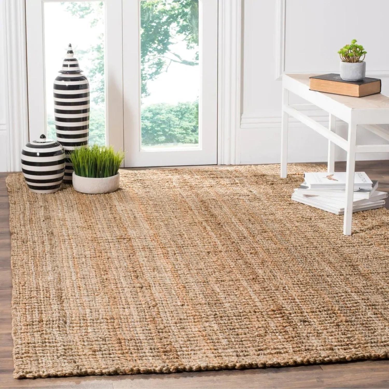 Safavieh Handmade Natural Fiber Jute Rustic Rug / Carpet - image-6