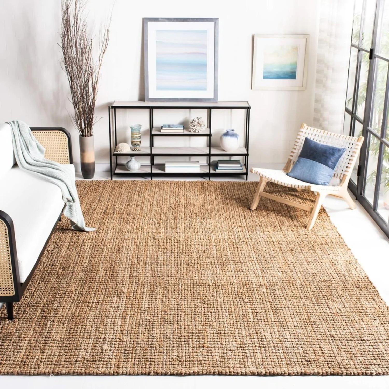Safavieh Handmade Natural Fiber Jute Rustic Rug / Carpet - image-5