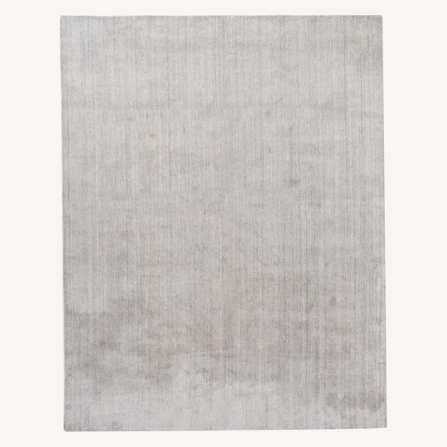 West Elm Handloomed Strie Shine Rug