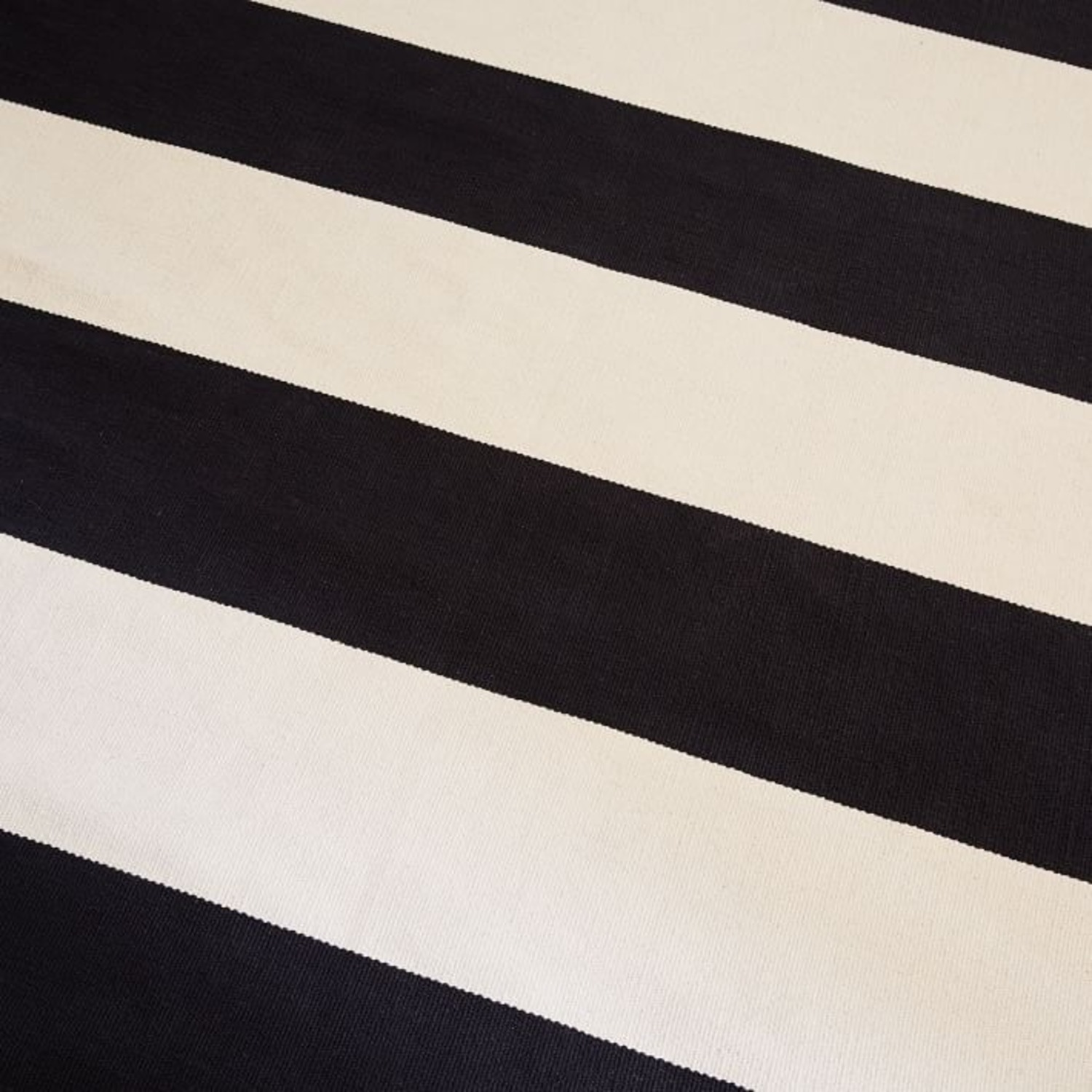 West Elm Bold Stripe Cotton Rug