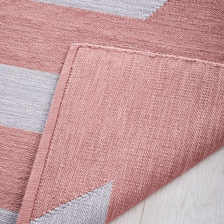 West Elm Spliced Stripe Rug - image-1