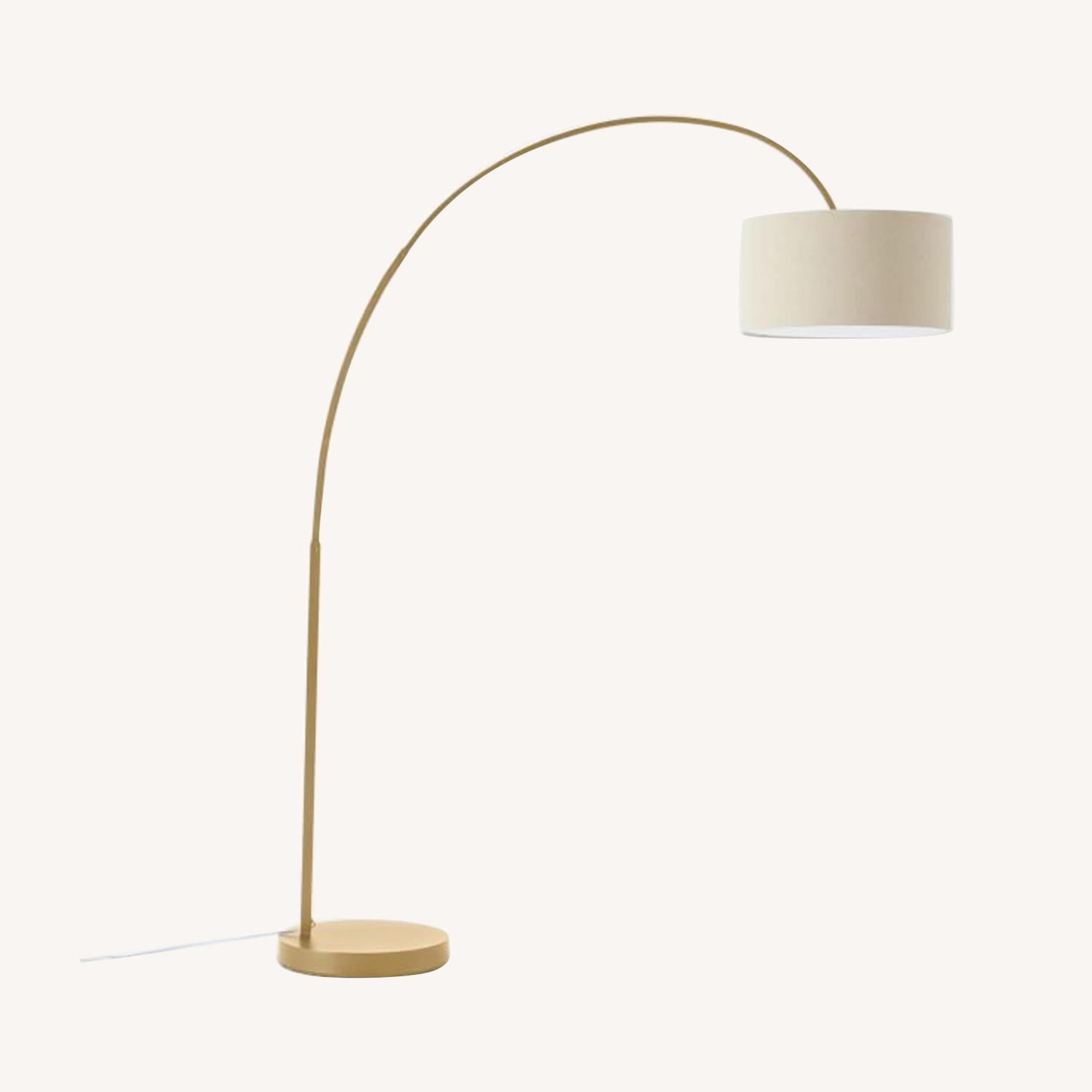 West Elm Cfl Overarching Floor Lamp - image-0
