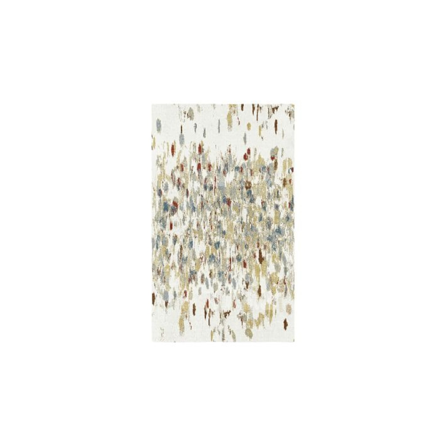 West Elm Paint Palette Rug - image-1