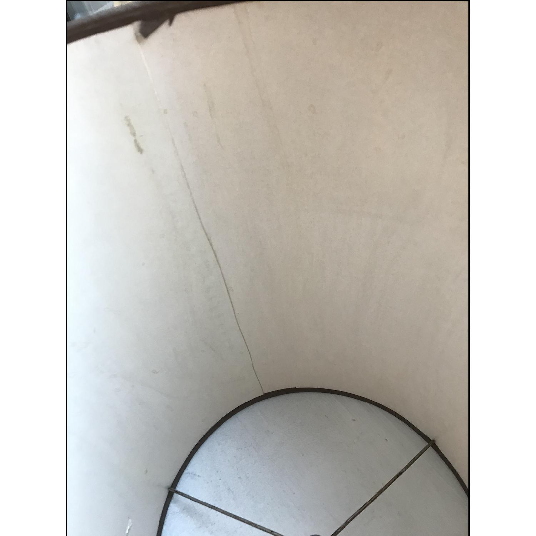 Vintage Eagle Wooden Lamp With Barrel Shade - image-19
