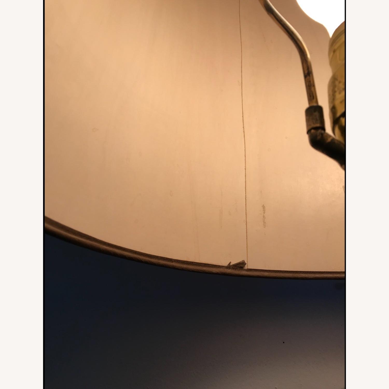Vintage Eagle Wooden Lamp With Barrel Shade - image-5