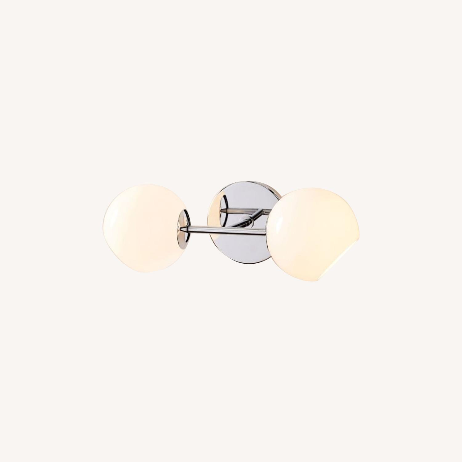West Elm Staggered Glass Sconce - image-0