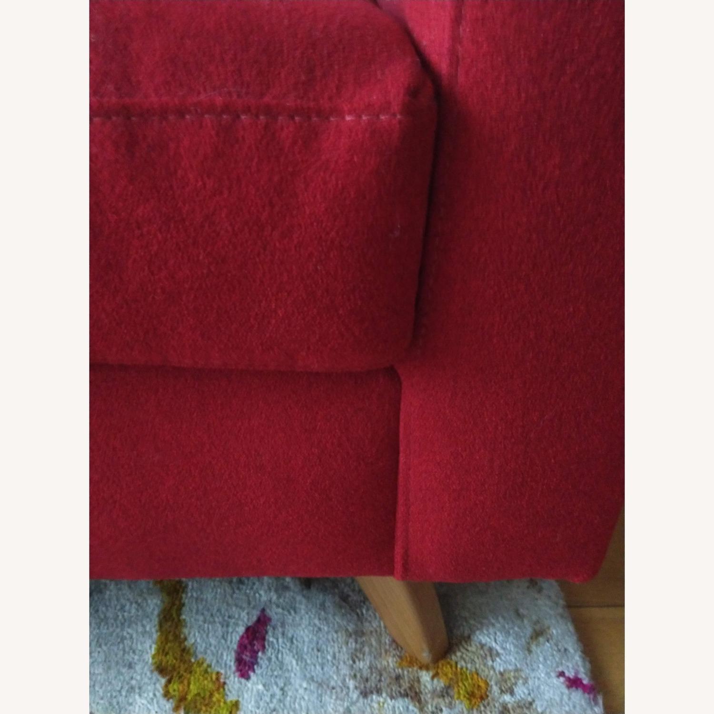 True Modern Mid-century Modern 3-seater Sofa Plus Ottoman