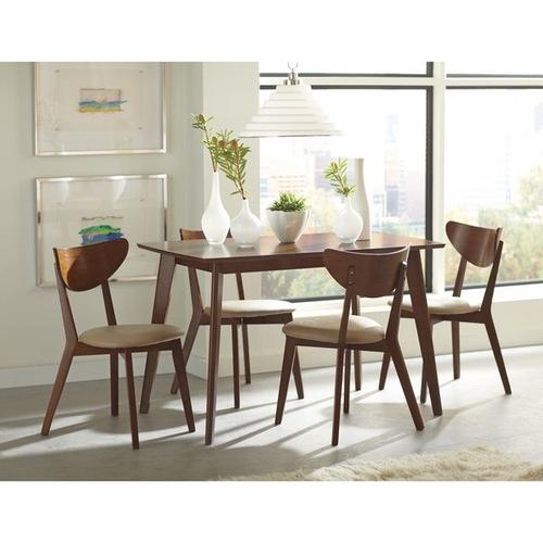 Used Mid Century Modern Solid Wood Dining Set InMod for sale on AptDeco